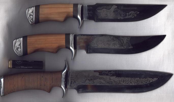 Материал рукоятки для ножей