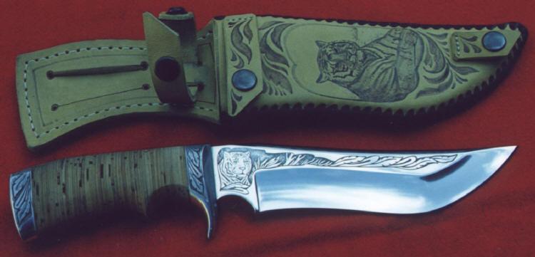Как сделать нож своими руками для охоты 114