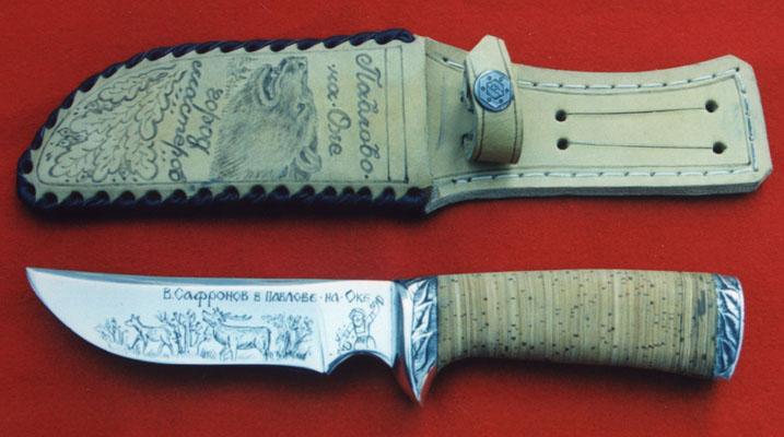 Изготовить охотничий нож своими руками 70