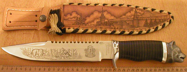 Ручки для ножей из дерева